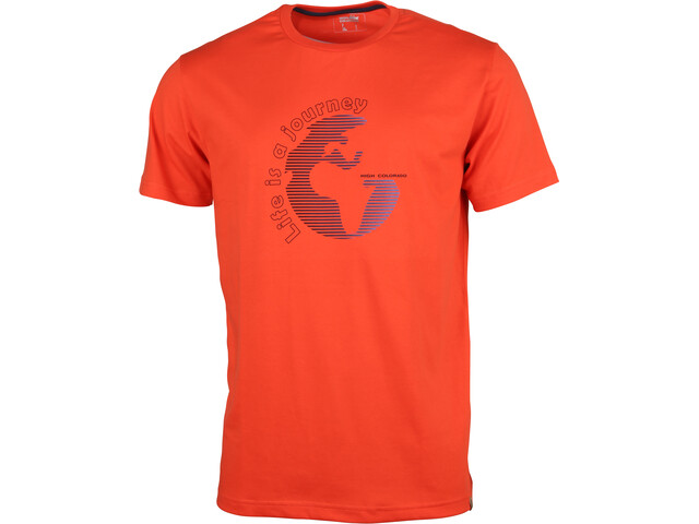 High Colorado Garda 4 T-Shirt Herren spicy orange
